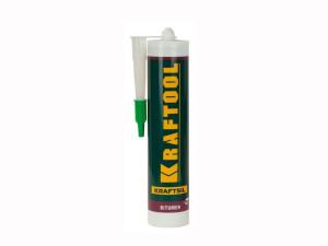 Герметик битумный черный, 300мл Kraftool BX111