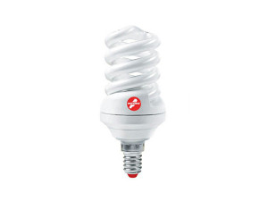 Лампа КЛЛ 15W E27 2700К тёплый свет Экономка Трубка T2