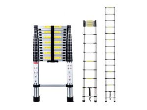 Лестница телескопическая односекционная Алюмет 1х15